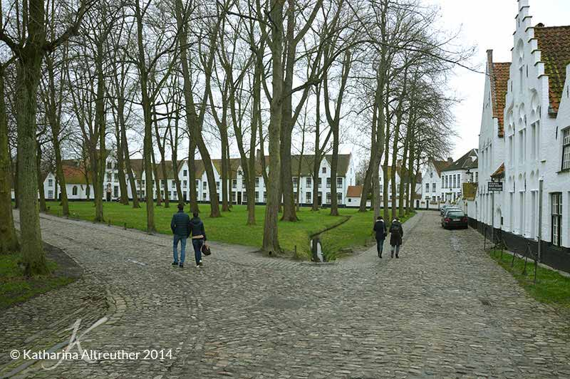 Beguinage in Brügge