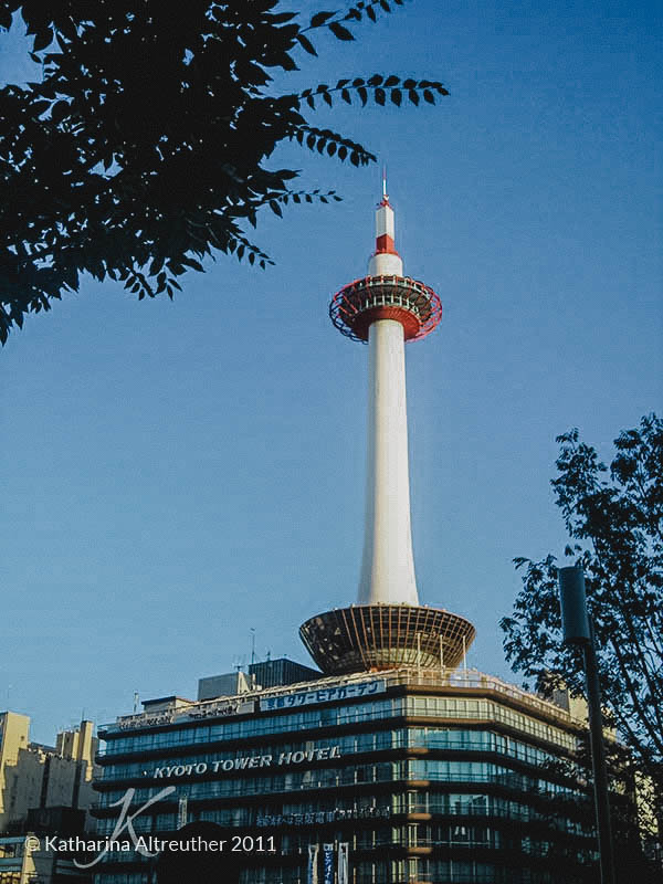 Kyōto Tower in Kyōto