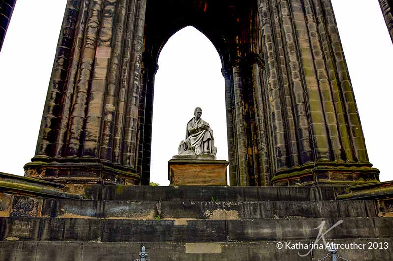 Scotts Monument in Edinburgh, Schottland