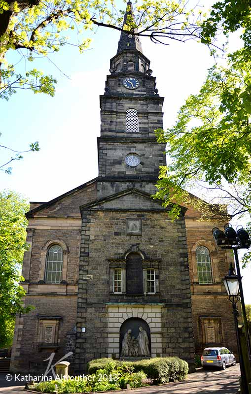 The Parish Church of St Cuthbert in Edinburgh, Schottland