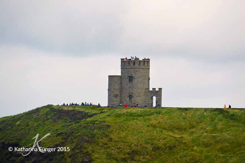 Der O'Briens Tower bei den Cliffs of Moher