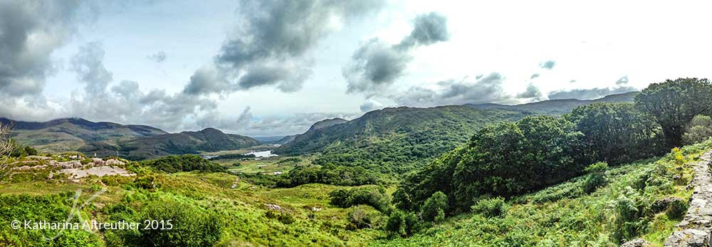 Ladies' View im Killarney Nationalpark
