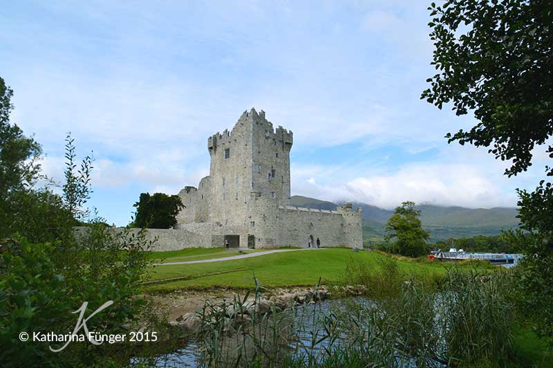 Ross Castle in Killarney