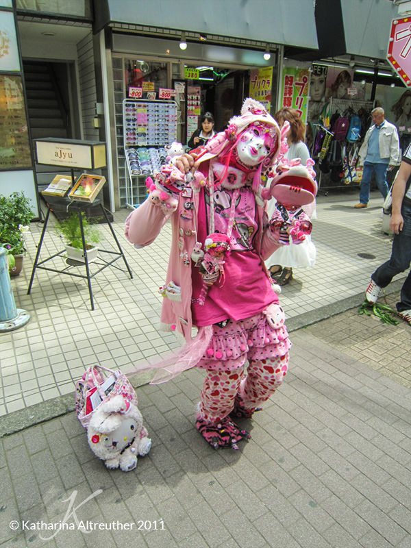 Cosplayer in Harajuku