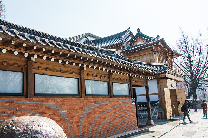 Hanok-Village in Seoul