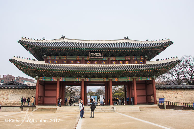 Changdeokgung in Seoul