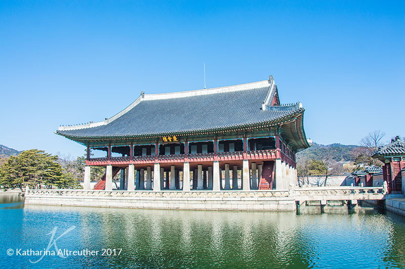 Am Gyeongbokgung in Seoul