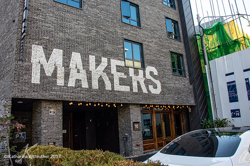 Das Makers Hotel in Seoul