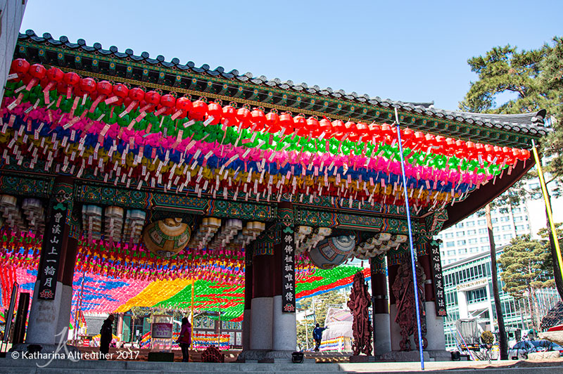 Jogyesa in Seoul