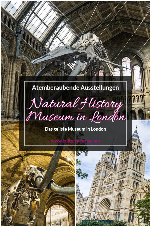 Das Natural History Museum in London