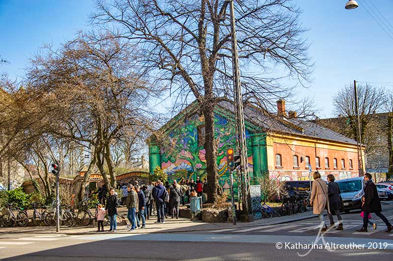 Christiania in Kopenhagen