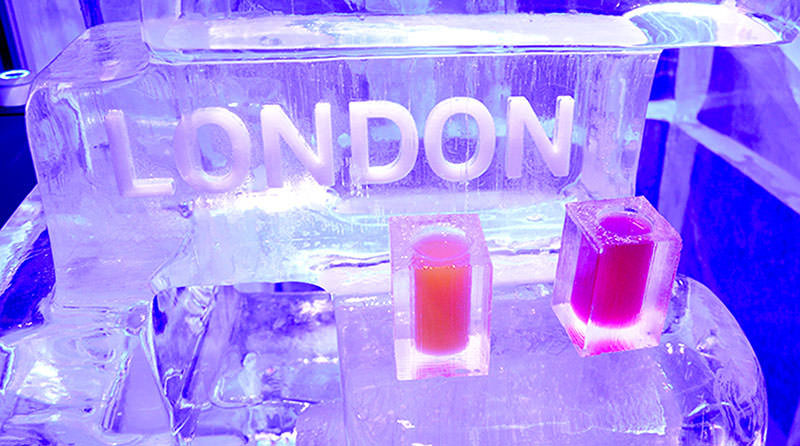 Die kältesten Drinks der Stadt – Ice Bar London