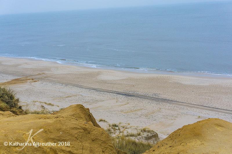 Das Rote Kliff auf Sylt