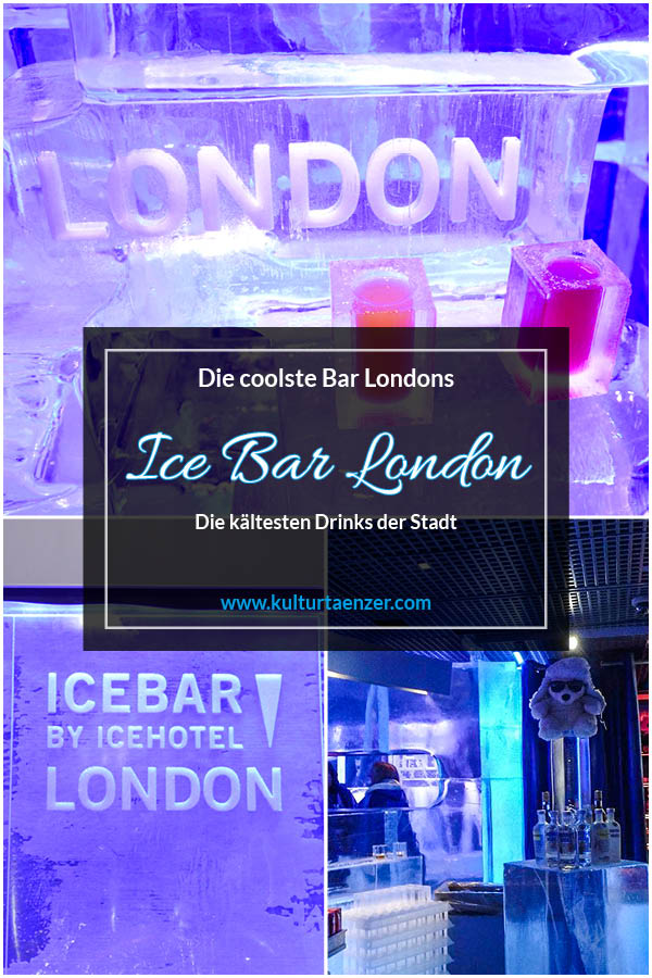Ice Bar London - Die coolste Bar Londons. Die kältesten Drinks der Stadt. #feierabend