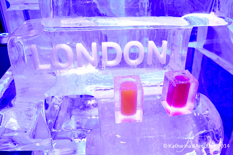Besuch in der Ice Bar London