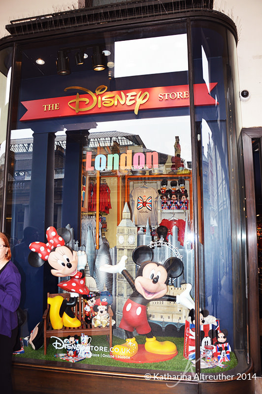 Disney Store in London