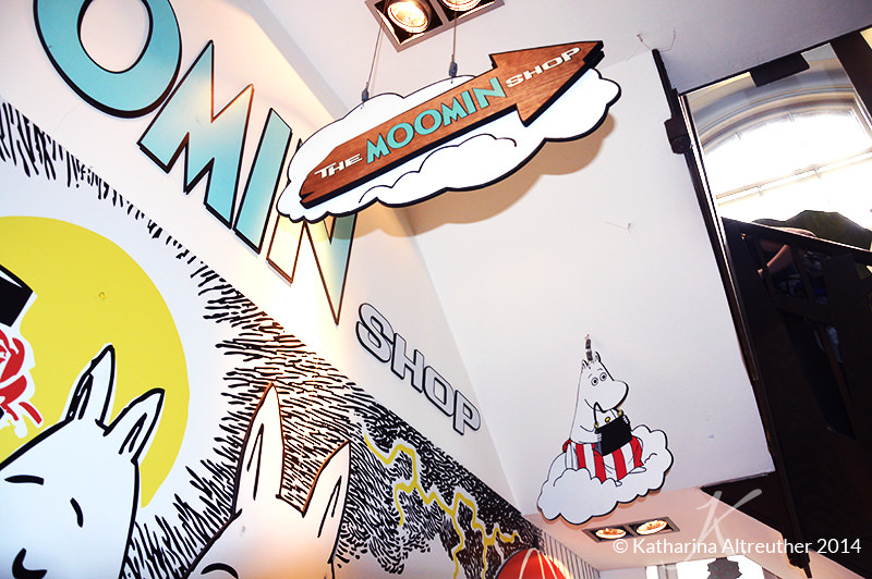 The Moomin Shop in London