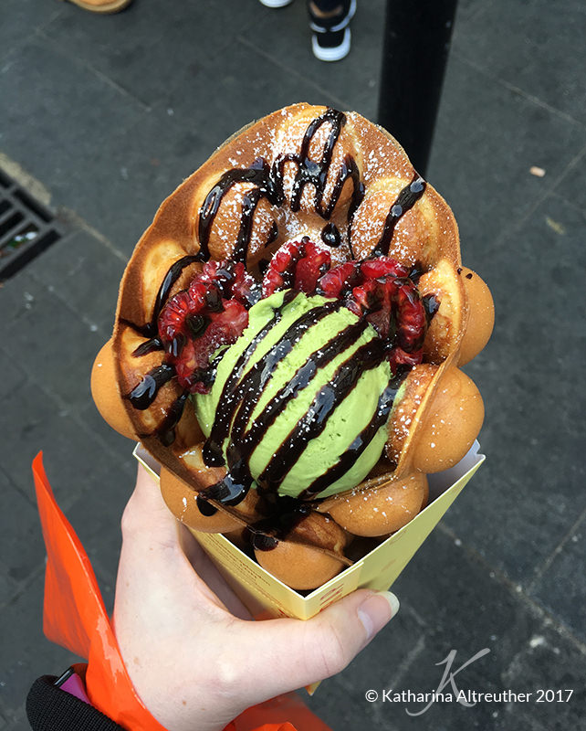 Bubblewrap Waffles in London