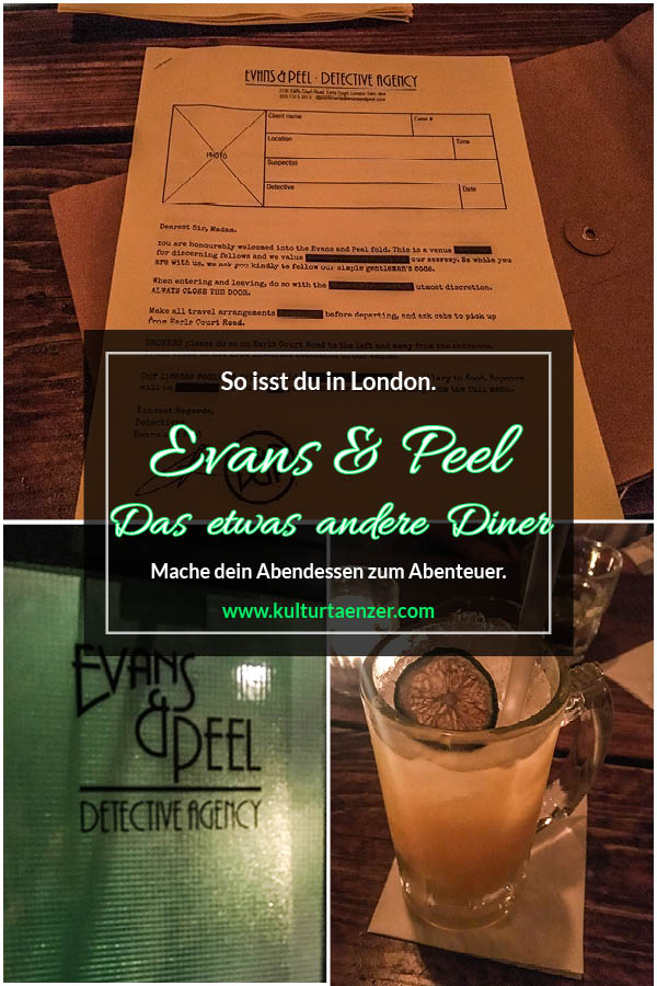 Evans & Peel - Das etwas andere Abendessen. So isst London. So machst du dein Abendessen zum Abenteuer. #london #londonlife #harrypotter #madhatter #städtetrip #travelblogger #photography #things to do in london #travel #pubs #england #shopping #fashion #street style #food #city