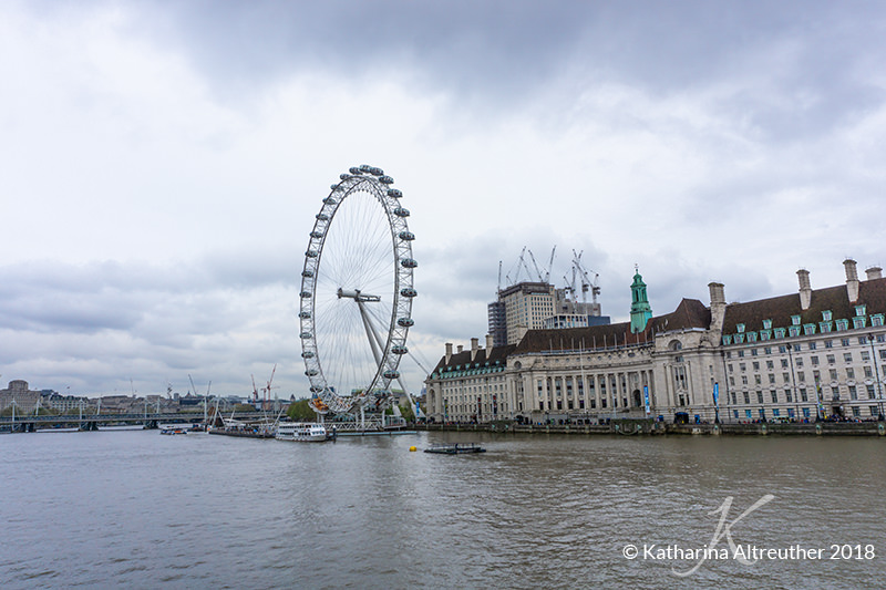 The London Eye - 3 Tage in London