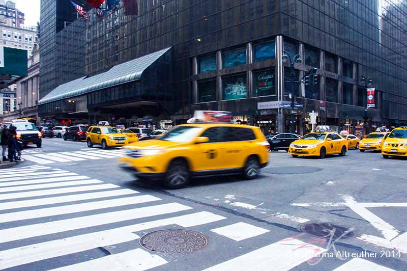 New York City - Taxis in Manhattan