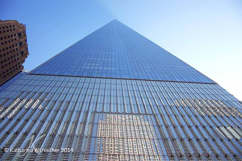 Das One World Trade Center in New York City