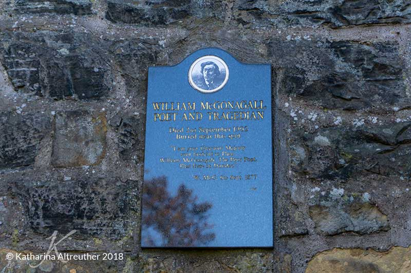 Greyfriars Kirkyard: Das Grab von William McGonagall