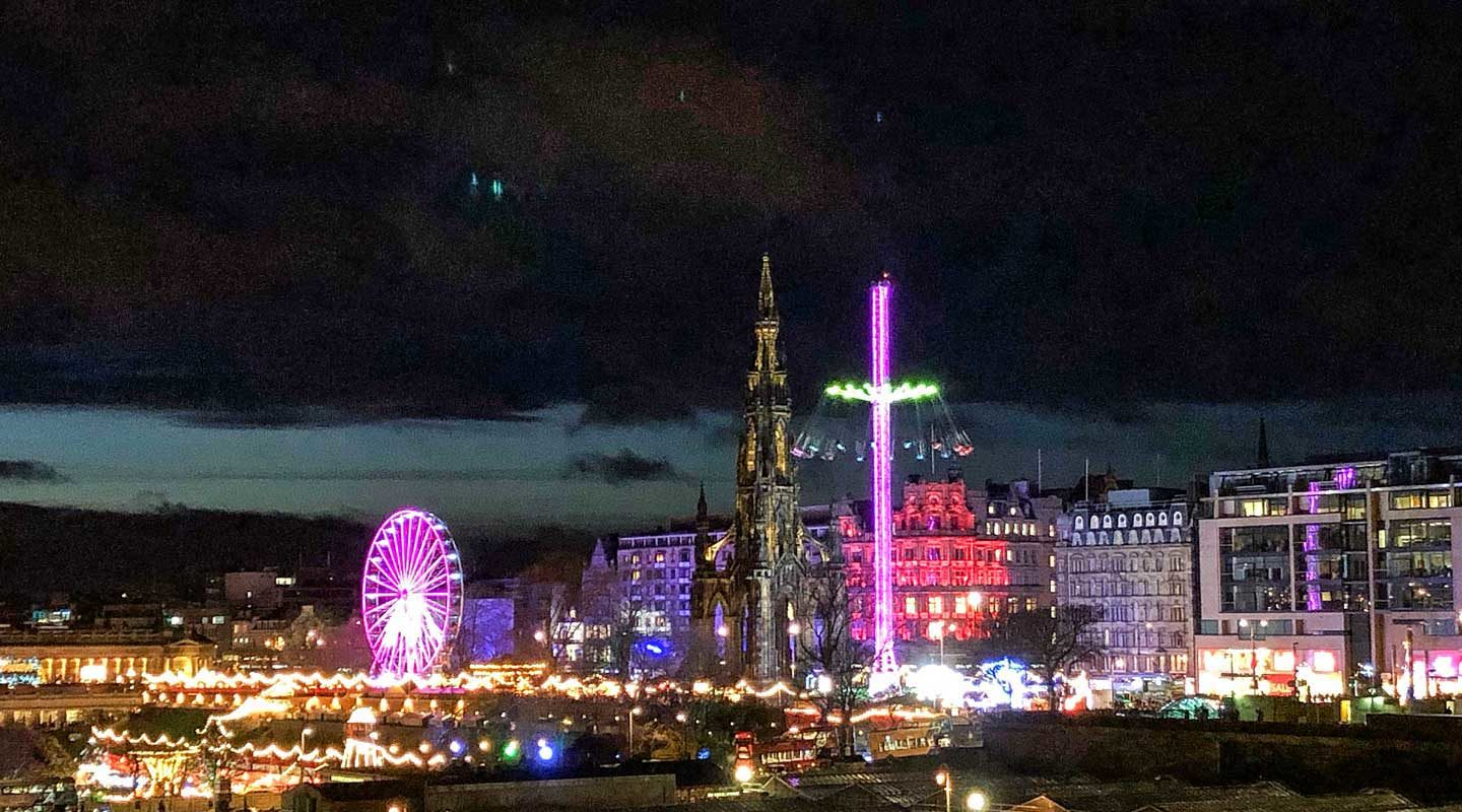 Hogmanay in Edinburgh – So feierst du Silvester in Schottland