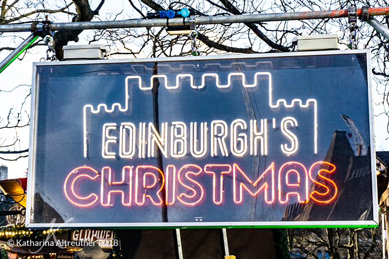 Edinburgh im Winter: Edinburgh's Christmas