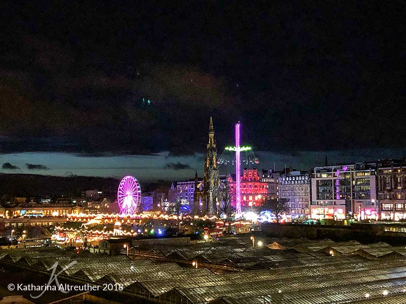 Zu Hogmanay in Edinburgh