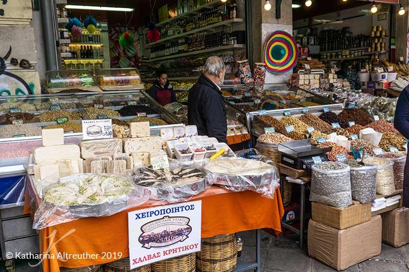 Zentralmarkt in Athen