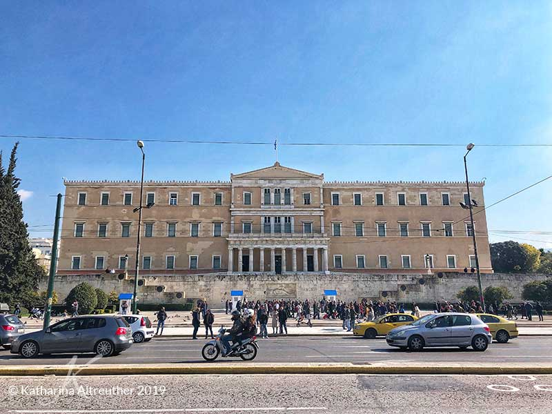 Syntagma-Platz in Athen