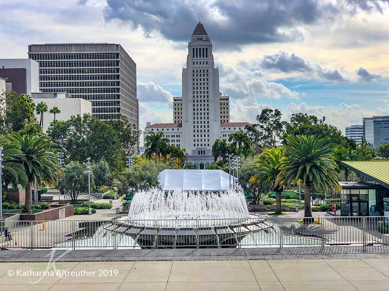 Civic Center in Los Angeles