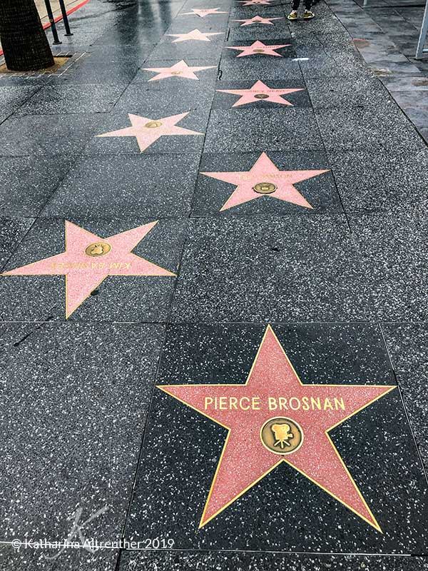 Der Hollywood Walk-of-Fame in Los Angeles