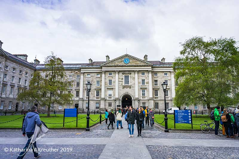 Das Trinity College in Dublin