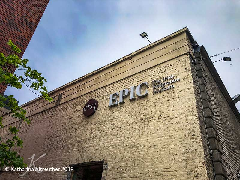 EPIC - The Irish Emigration Museum in Dublin