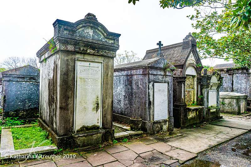 Lafayette Cemetery No. 1 im Garden District in New Orleans