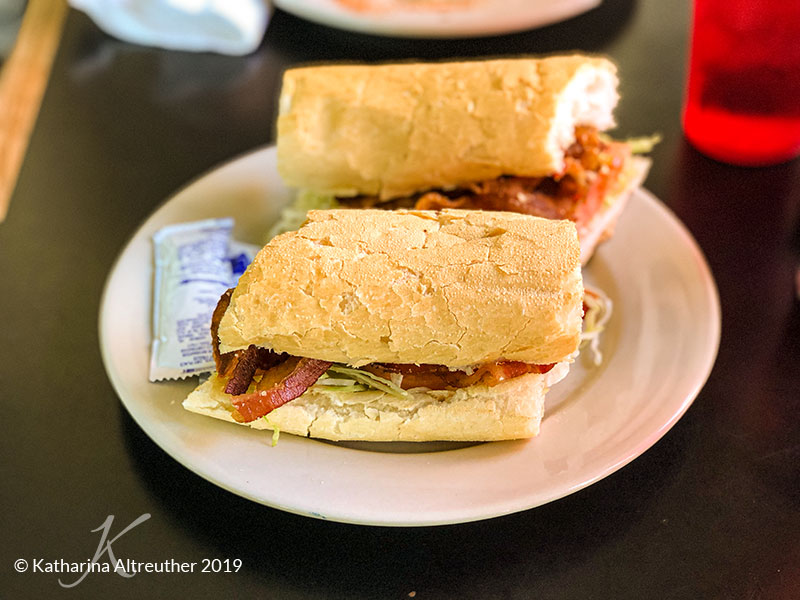 Po'boy in New Orleans