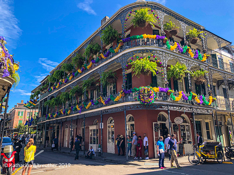 Bourbon Street in New Orleans