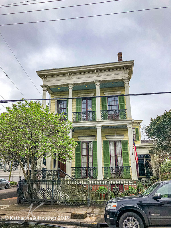 Der Garden District in New Orleans