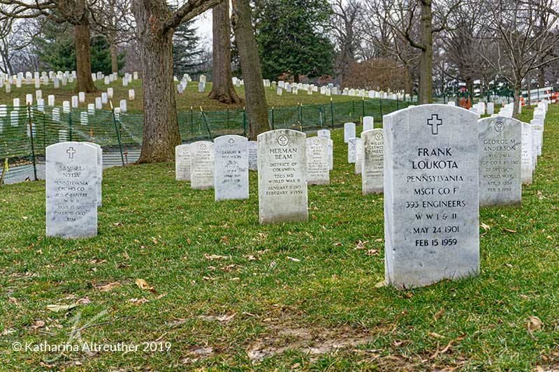 Der Nationalfriedhof Arlington in Washington D.C.