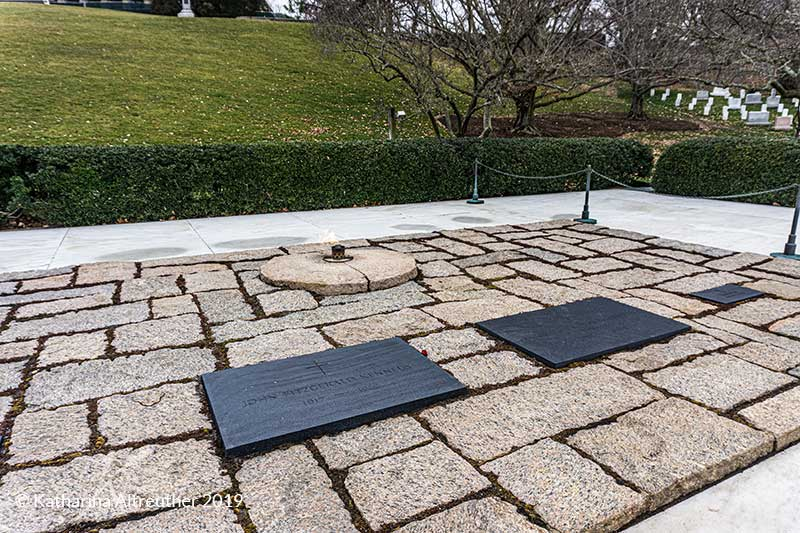 Grab von John F. Kennedy auf dem Nationalfriedhof Arlington in Washington D.C.