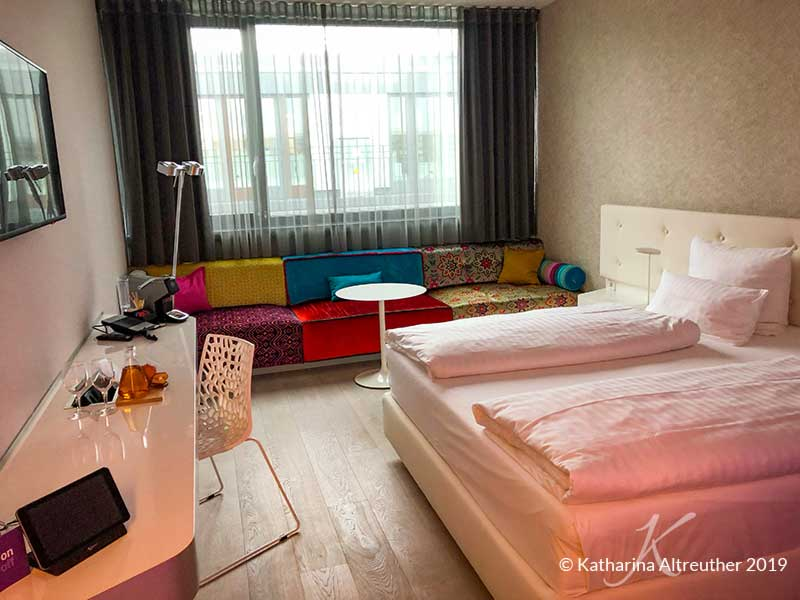 Die Zimmer im Jaz in the City in Stuttgart