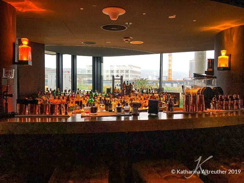 Die Wolfram Bar & Terrace im Jaz in the City in Stuttgart