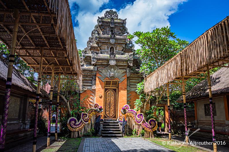 Die kleinen Tempel auf Bali