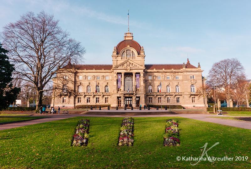 Der Rheinpalast in Straßburg