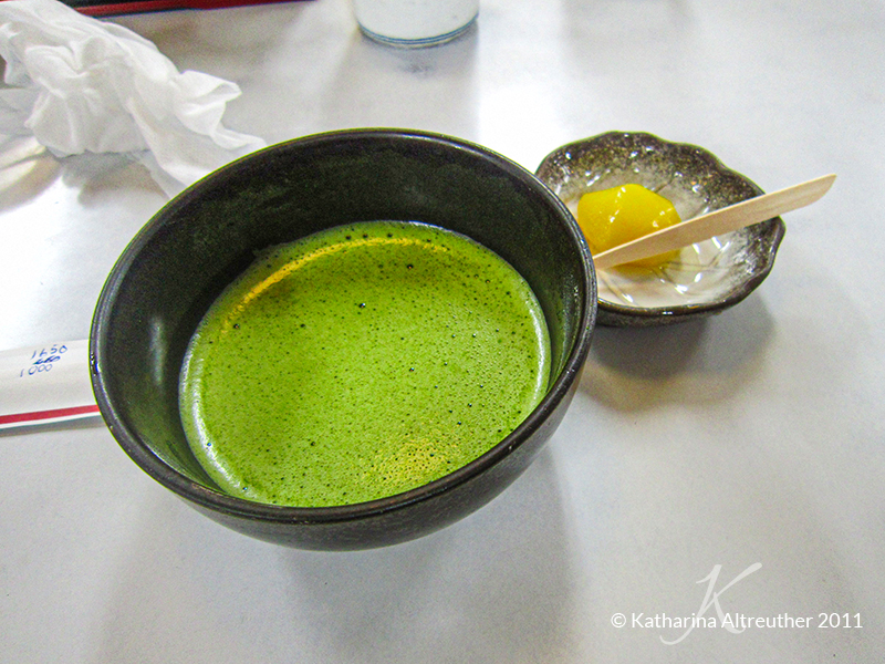 Matcha in Kyoto