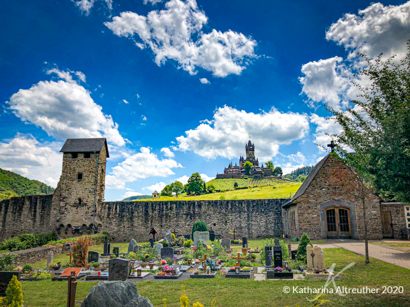 Der Friedhof in Cochem